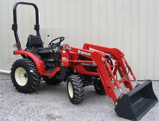 Branson Mini Tractors: 00 Series Model Price Specifications