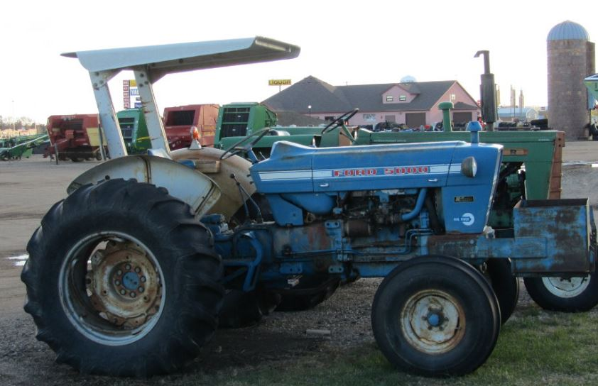 Old Ford Tractor Keys : Ford vintage tractor price specifications fetures
