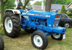 Ford 5000 Tractor specification