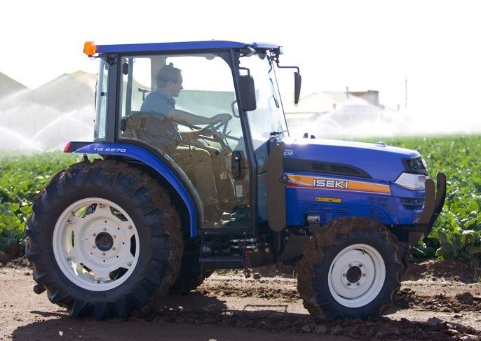 Iseki TG5570 CAB Compact Tractor
