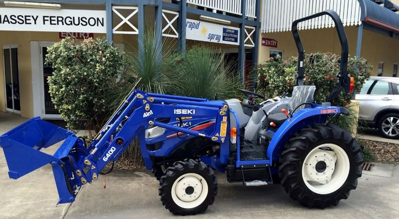 Iseki TG6370P.4R ROPS Compact Tractor