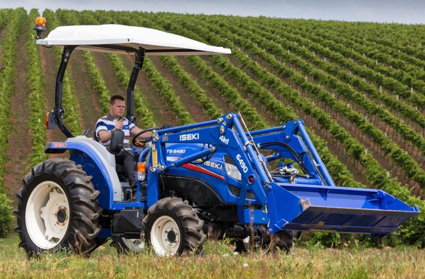 Iseki TG6400H.4C CAB Compact Tractor