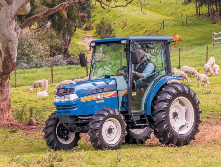 Iseki TG6490H.4C CAB Compact Tractor