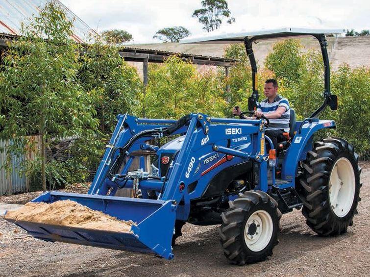 Iseki TG6490P.4C CAB Compact Tractor