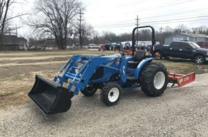 LS XG3037h Compact Tractor