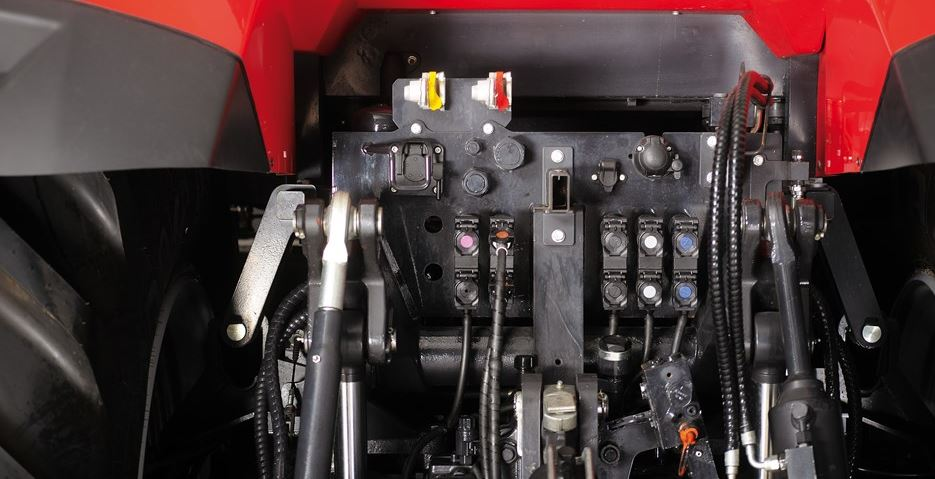 McCormick X8 VT Drive Series Tractor hydraulic