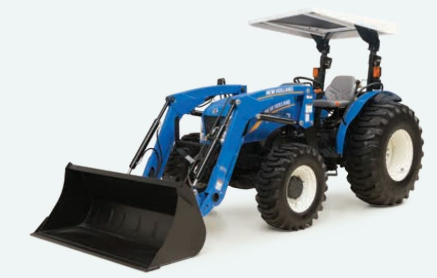 New Holland 600TL Series front loader Specifications