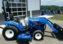New Holland Boomer 24 Compact Tractors Overview