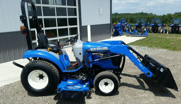 New Holland Boomer Compact Tractors : New holland boomer compact tractor specs price images