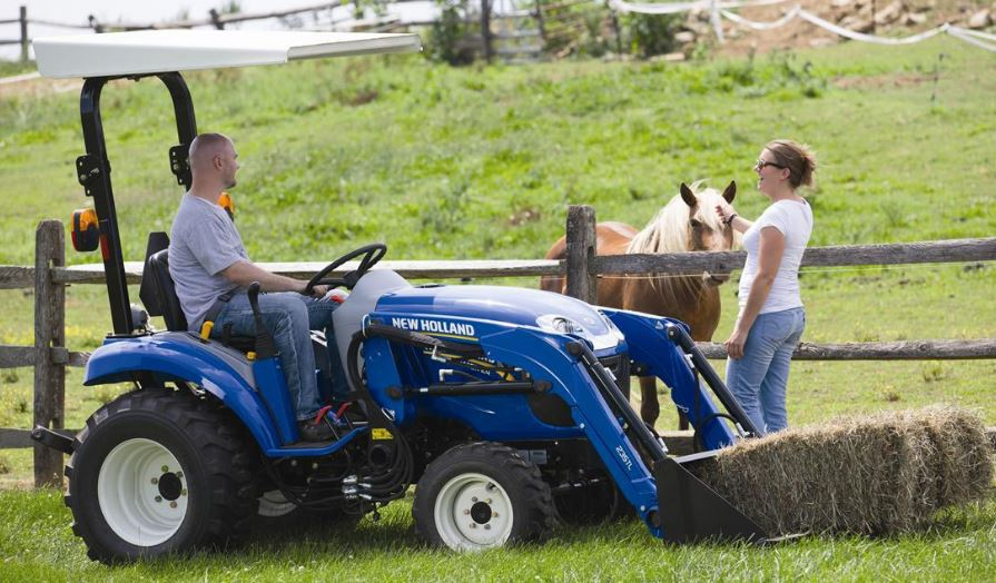 New Holland Boomer 24 Compact Tractors specifications