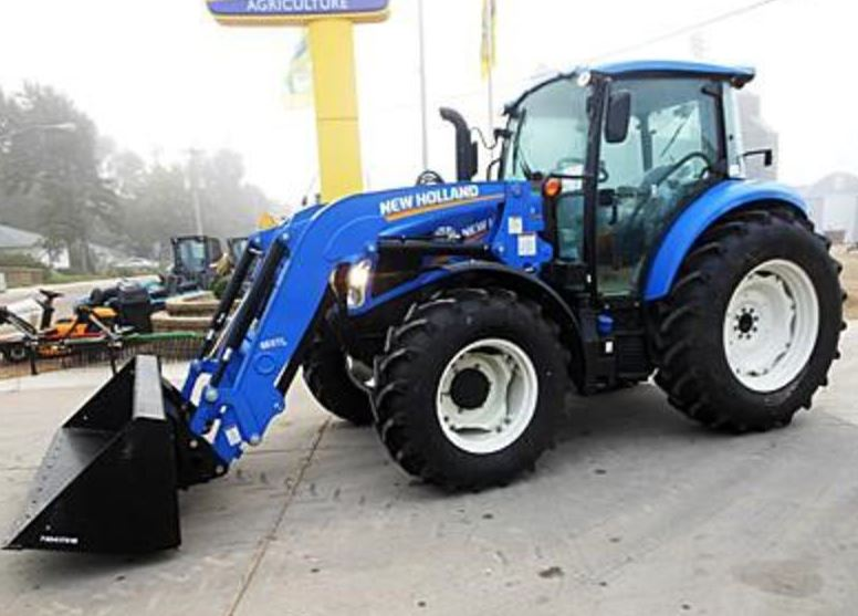 New Holland T4.120 Utility Tractor