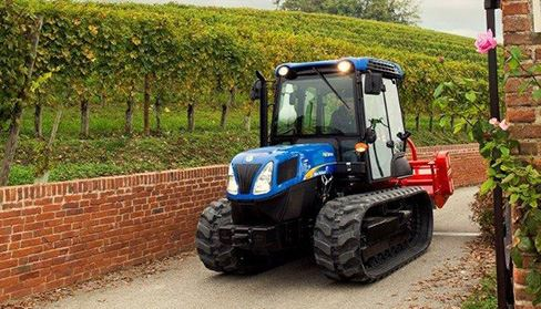New Holland TK4050 Crawler Tractor