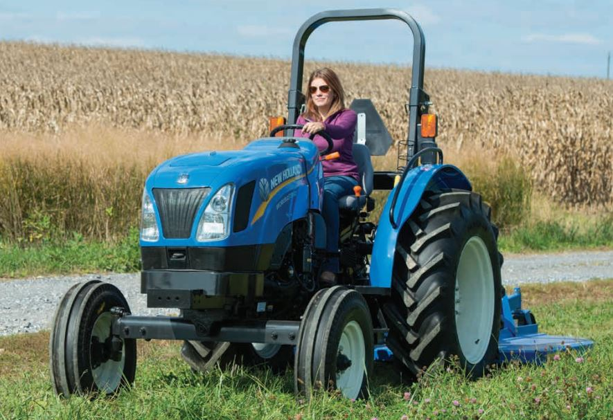 New Holland Workmaster Utility Tractors Overview