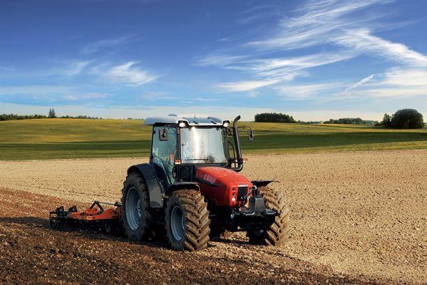 SAME SILVER³ 110 Tractor
