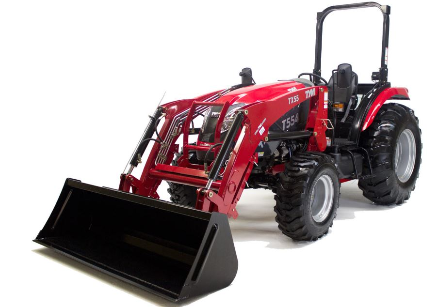 Tym T554 HST Compact Utility Tractor