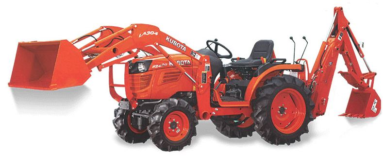 Kubota B2420 Compact Tractor Attachments