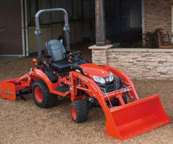Kubota Tractor Fuel Tank : Kubota bx series sub compact tractors price specs