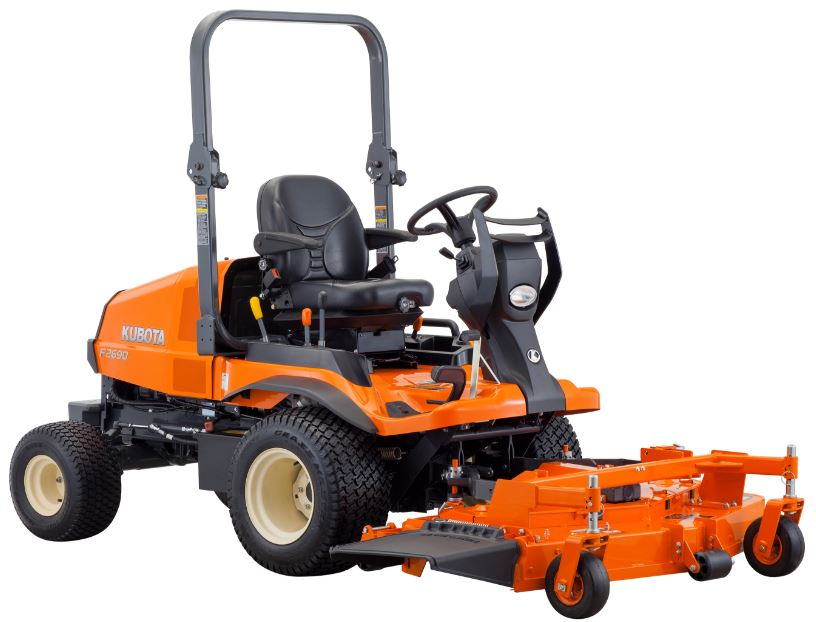 Kubota Commercial Mowers : Kubota f series mower price specs features