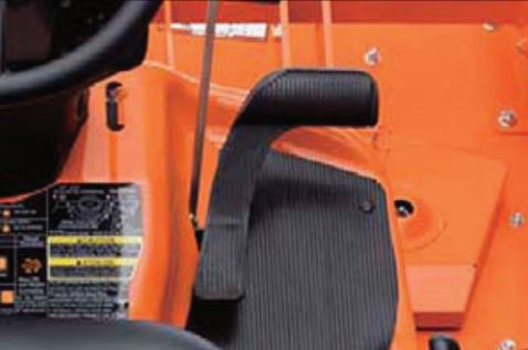 Kubota F90 Series Mower Single HST Pedal