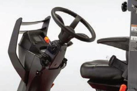 Kubota F90 Series Mower Tilt Steering Wheel
