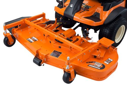 Kubota F90 Series Mower specifications