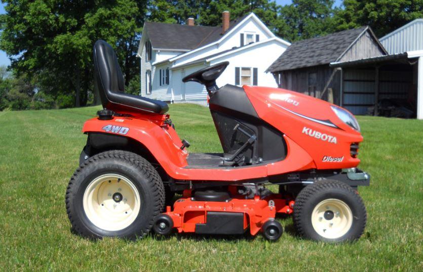 Kubota GR2120G Lawn Mower