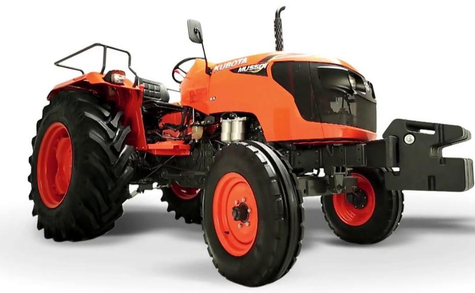 Kubota MU5501 4WD Tractor Overview
