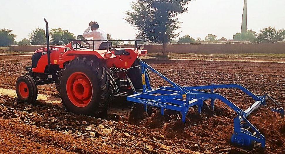 Kubota MU5501 4WD Tractor Price in India