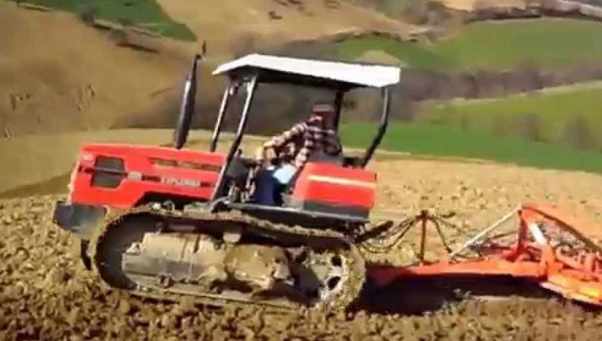 SAME Krypton 90N Crawler Tractor
