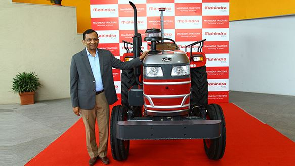 Mahindra Driverless Tractor in India