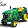 John Deere 3036EN Mini Tractor Price In India Specs Features