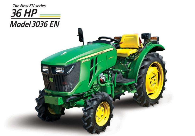 JohnDeere 3036EN Mini Tractor price in India