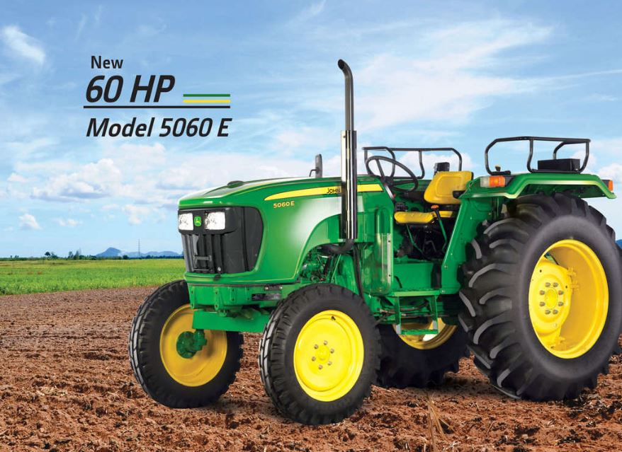 John Deere 5060E Tractor (60 engine HP) Price Specs Features