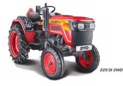 Mahindra JIVO 225DI 2WD Mini Tractor Overview