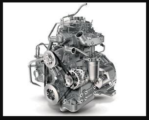 Mahindra JIVO 225DI 2WD Mini Tractor engine
