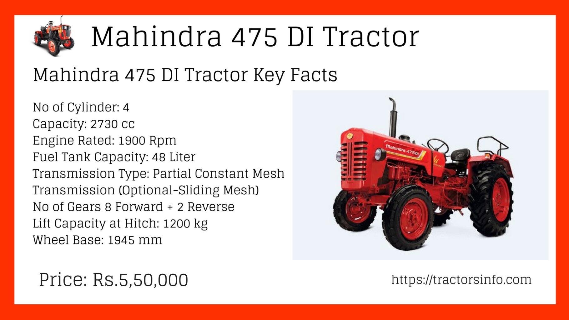 Mahindra 475 DI Price in India (2)
