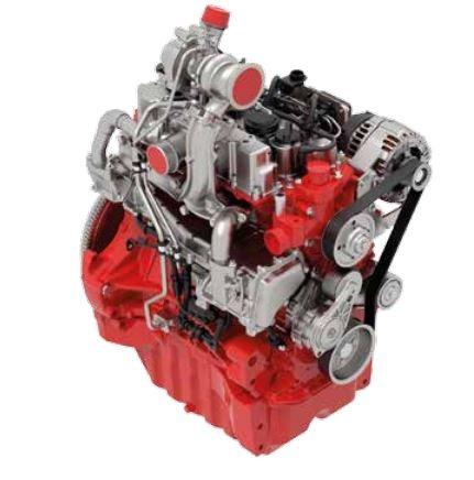 Zetor Hortus Tractor engine