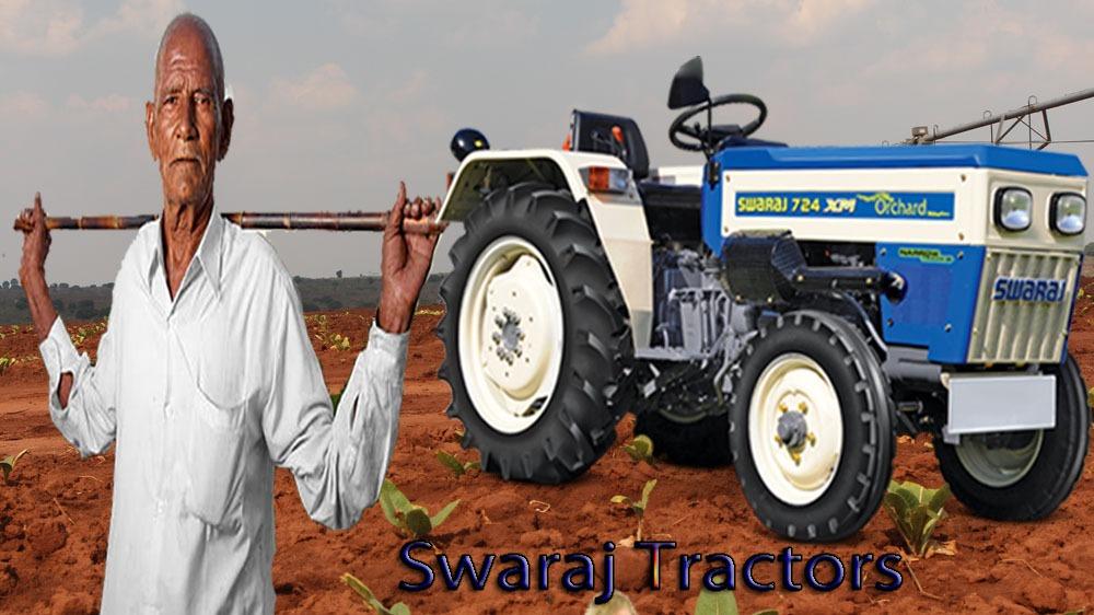 swaraj Tractors Price List