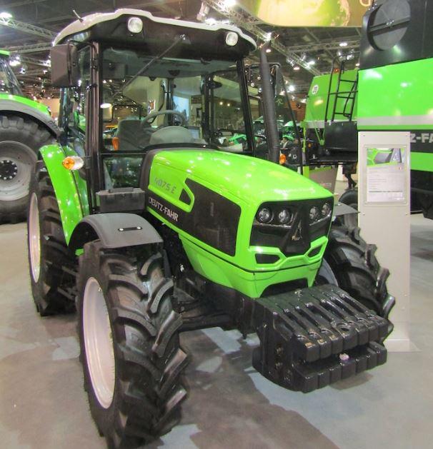 DEUTZ-FAHR 4075E Tractor price specs