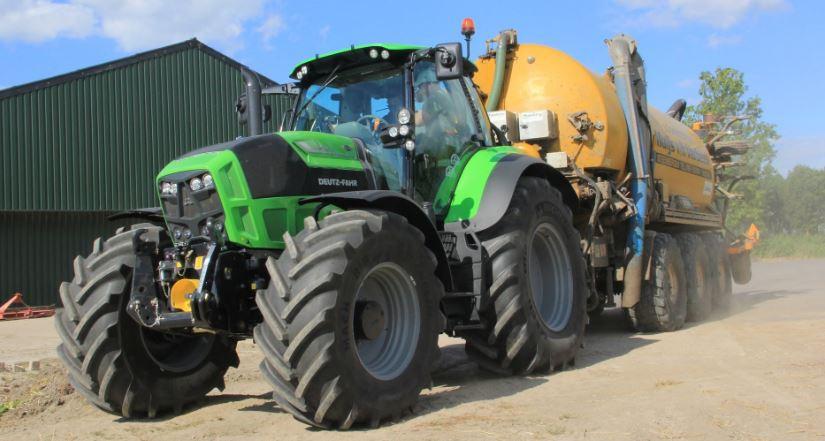 DEUTZ-FAHR 7250 TTV Agrotron Tractor Key Facts