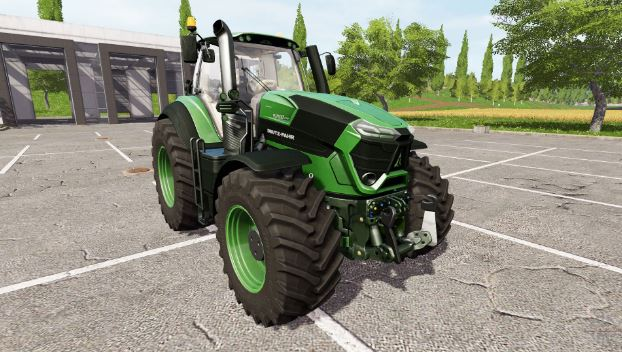DEUTZ-FAHR 9290 TTV Agrotron Tractor
