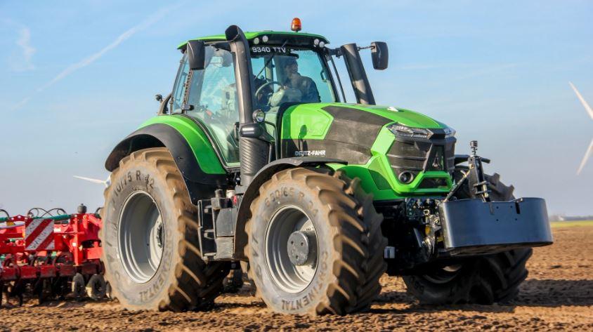 DEUTZ-FAHR 9340 TTV Agrotron Tractor