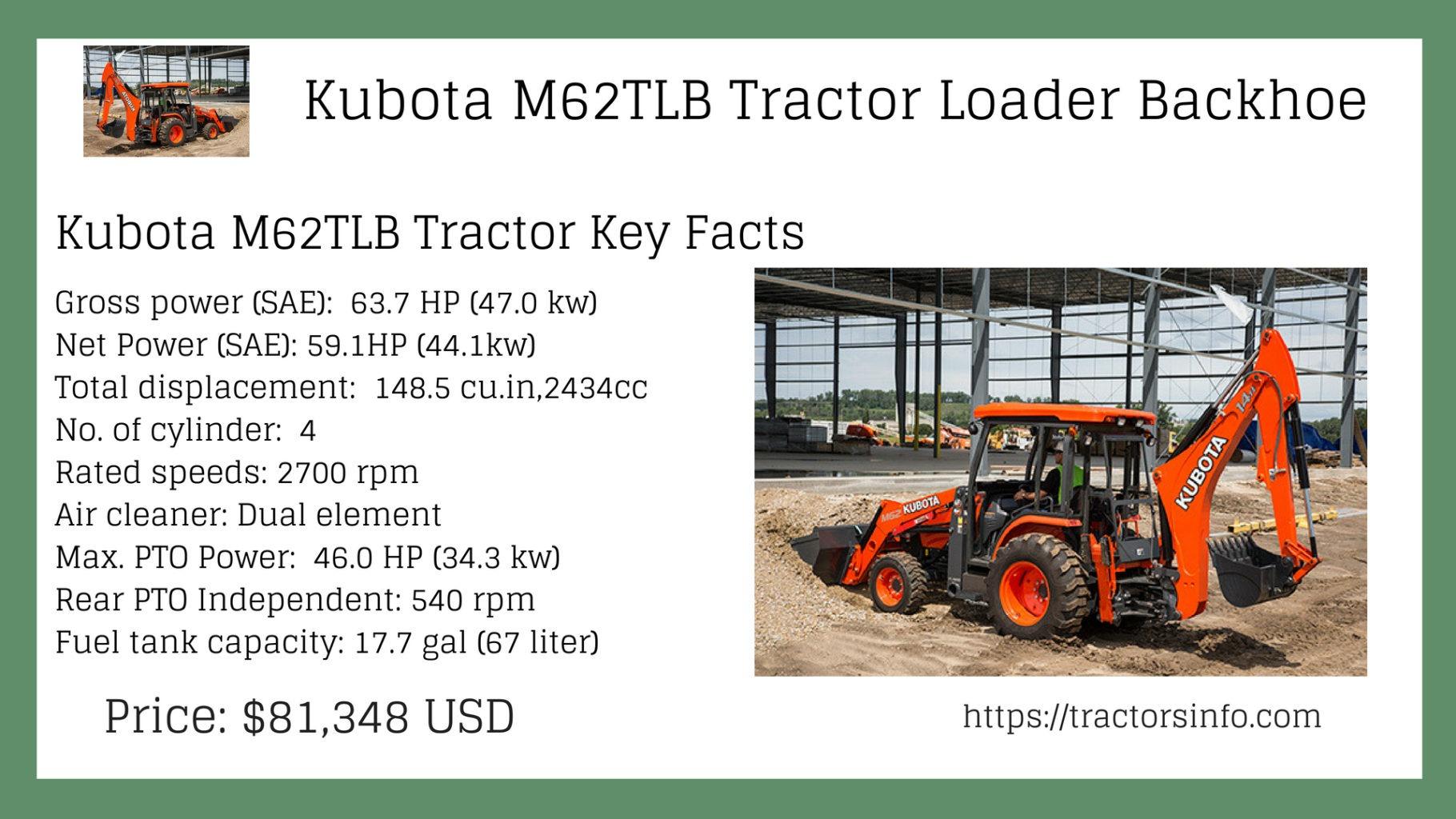 Kubota 62TLB