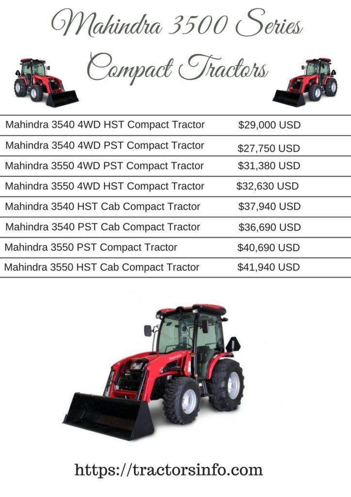 Mahindra 3500 Series Compact Tractors