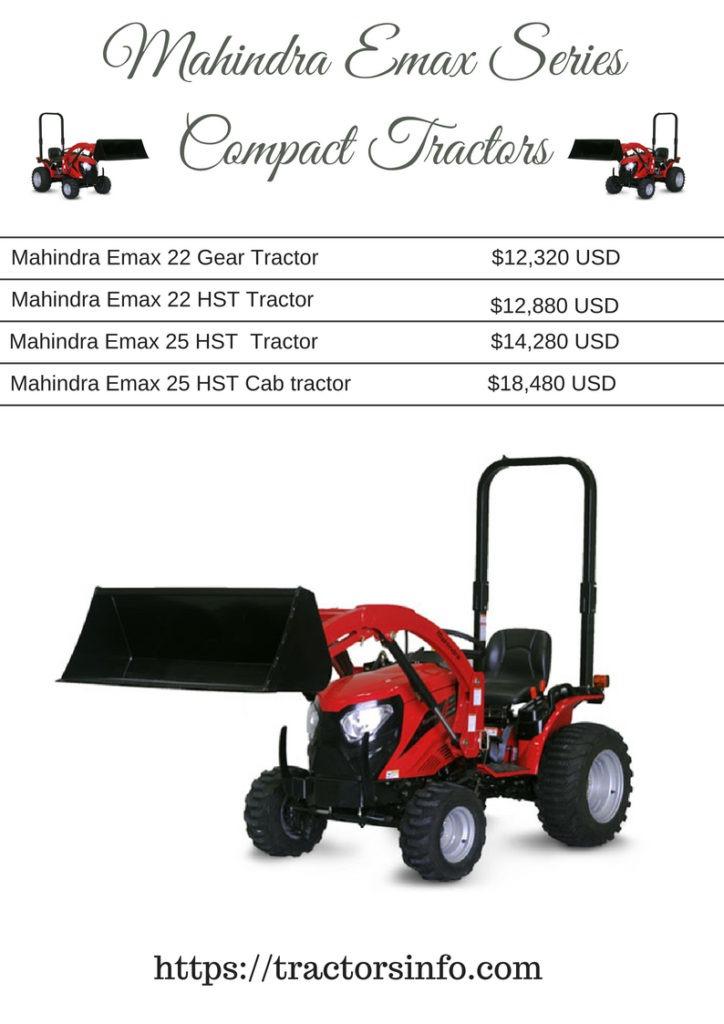 Mahindra Emax Series Compact Tractors
