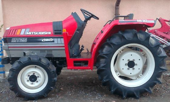 Mitsubishi MT 25 Gear And HST Tractor