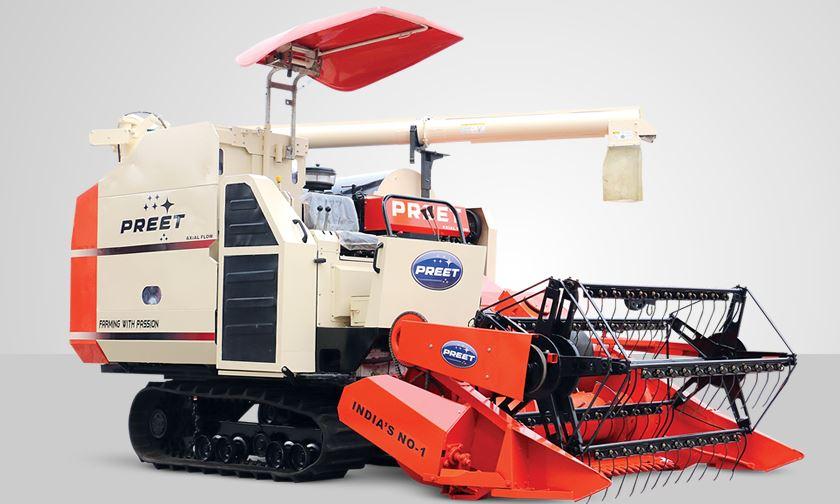 PREET 949 - Axial Flow Track Combine Harvester