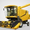 PREET 987 - Deluxe Model with AC Cabin - Self Propelled Combine Harvester
