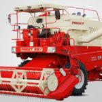 PREET 987 – Self Propelled Combine Harvester Information