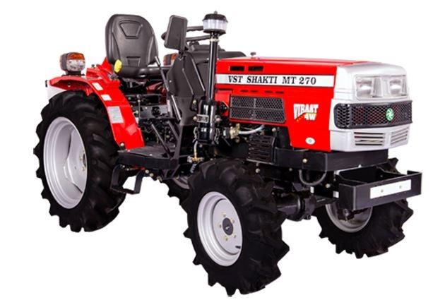 VST Shakti MT 270 VIRAAT 4W Mini Tractor Price